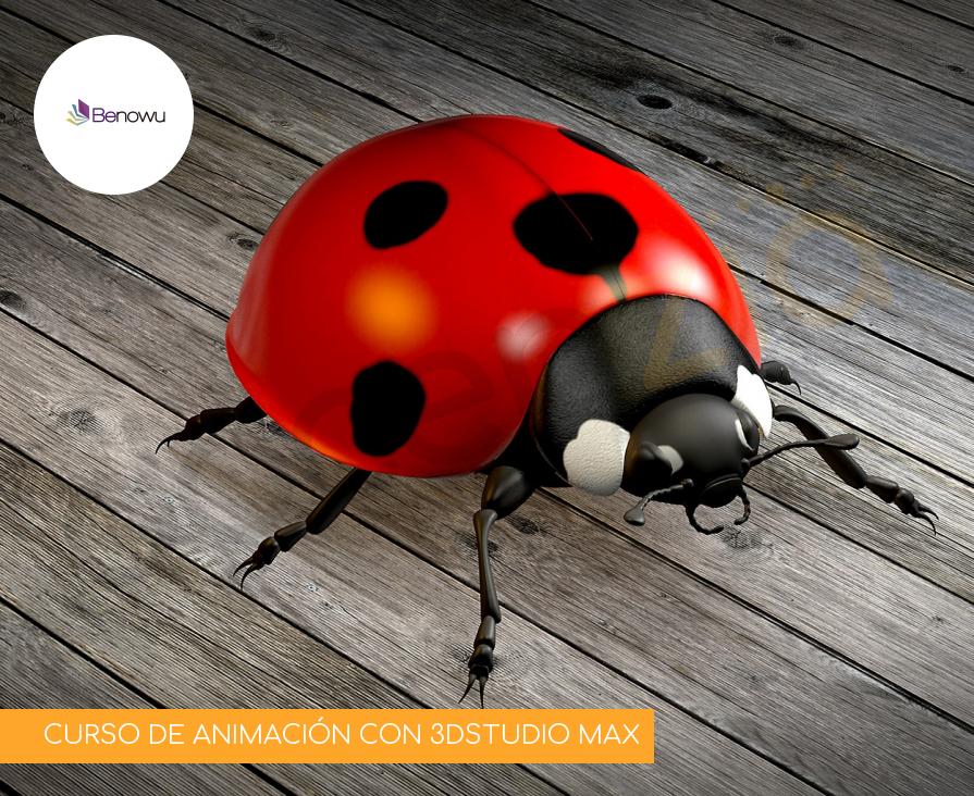 CURSO DE ANIMACIÓN CON 3DSTUDIO MAX