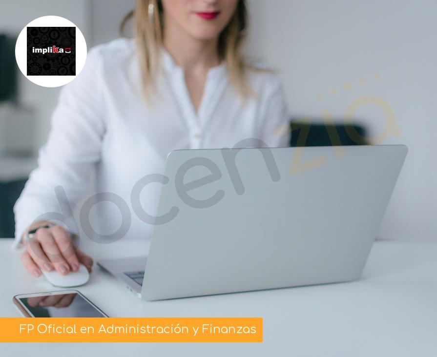 FP Oficial en Administración y Finanzas