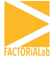 Logotipo FACTORÍALab
