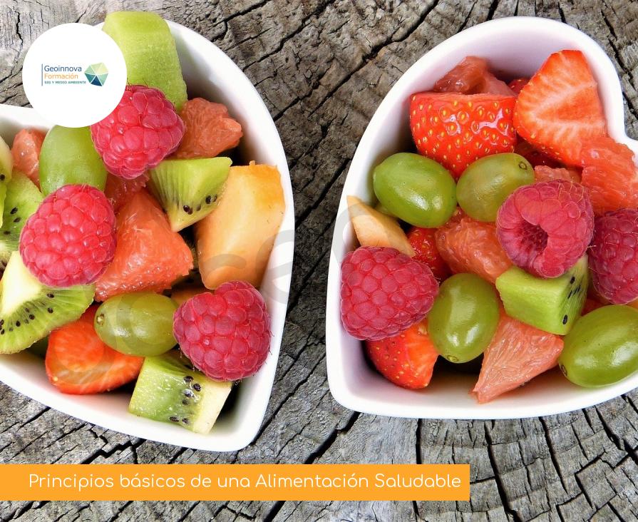 Principios básicos de una Alimentación Saludable