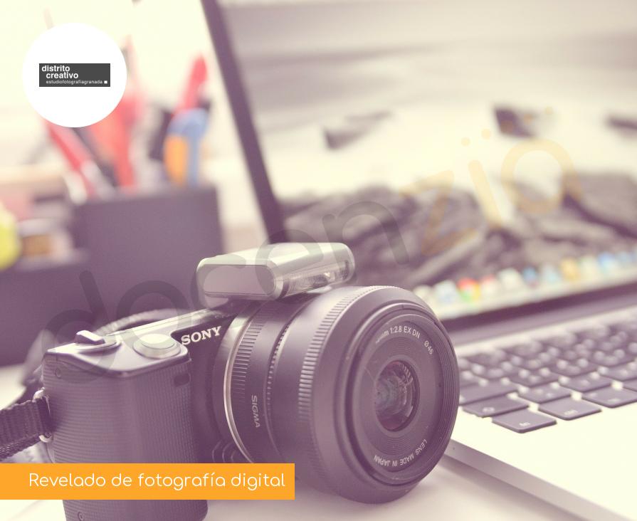 Revelado de fotografía digital