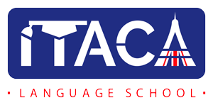 Logotipo Itaca Language School