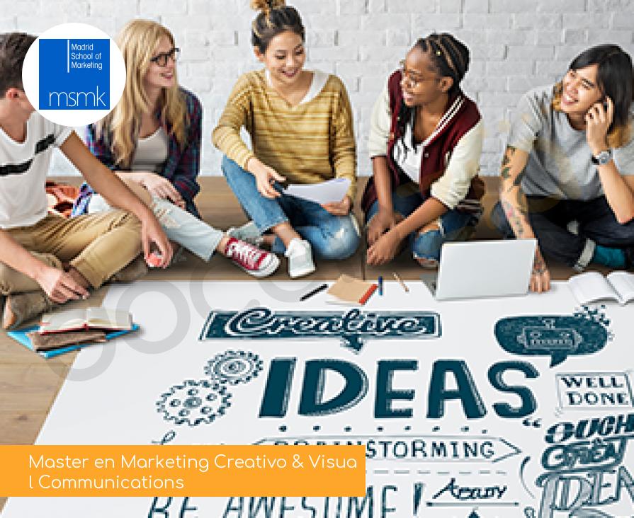 Master en Marketing Creativo & Visual Communications