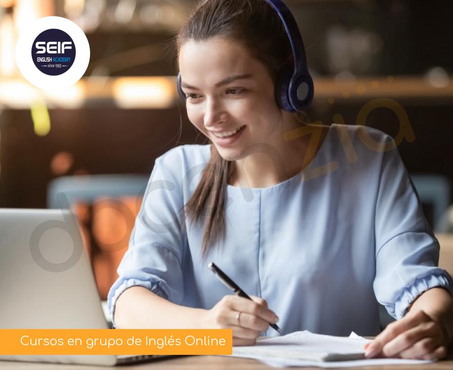 Cursos en grupo de Inglés Online