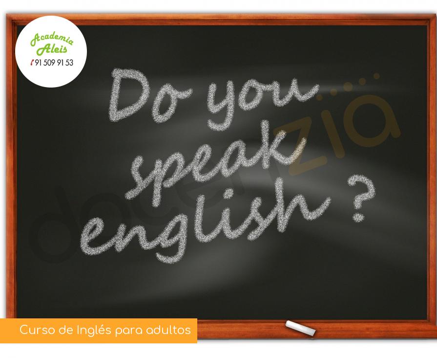 Curso de Inglés para adultos