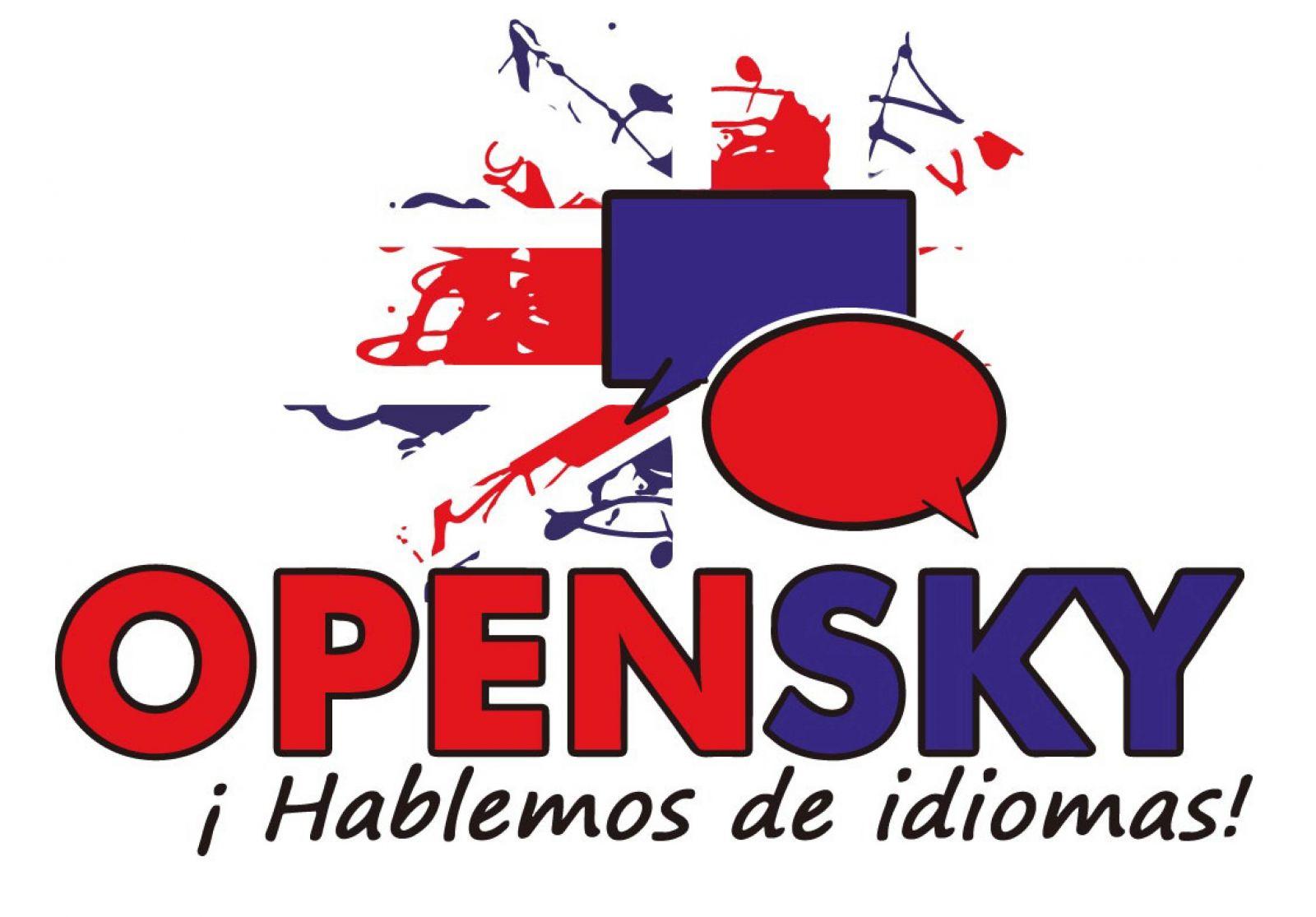 Logotipo Academia de Idiomas OpenSky