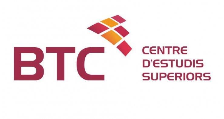 Logotipo BTC Centre d'Estudis Superiors