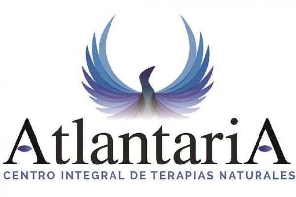 Logotipo Atlantaria Terapias Naturales