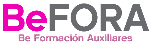 Logotipo BeFORA Be Formación Auxiliares