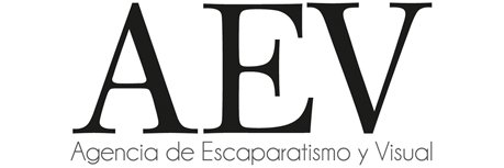 Logotipo AEV Agencia Escaparatismo y Visual Merchandising