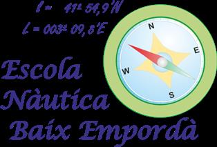 Logotipo Escola Nàutica Baix Empordà