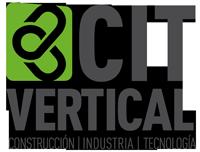 Logotipo CIT Vertical: trabajos verticales y formación IRATA