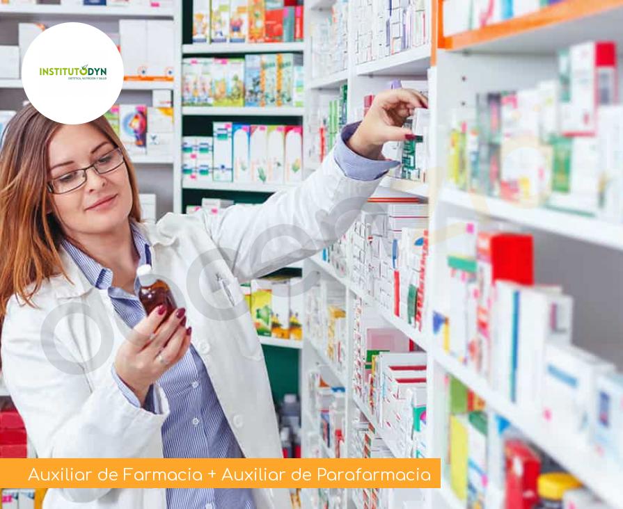 Auxiliar de Farmacia + Auxiliar de Parafarmacia