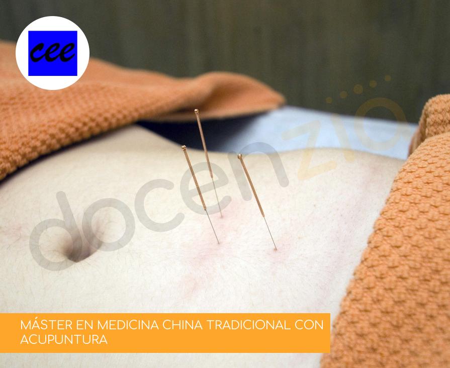 MÁSTER EN MEDICINA CHINA TRADICIONAL CON ACUPUNTURA