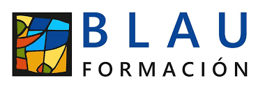 Logotipo Blau Formación