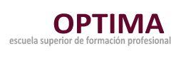 Logotipo Optima - Escuela Superior de Formación Profesional