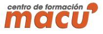 Logotipo Centro de Formación Macu